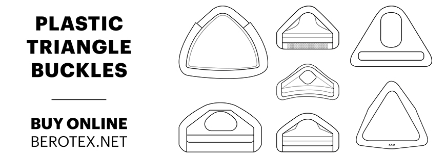 Plastic Triangle Buckles