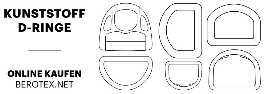 Kunststoff D-Ringe