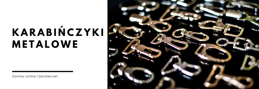 Karabińczyki metalowe