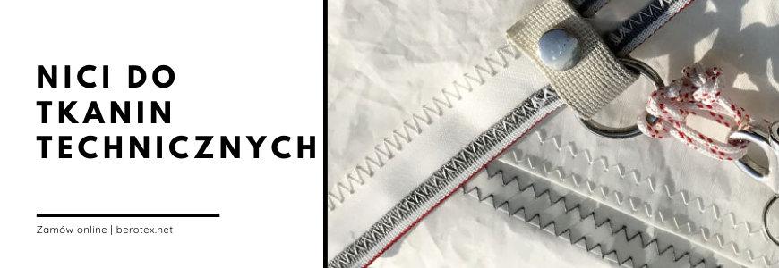 Nici do tkanin technicznych