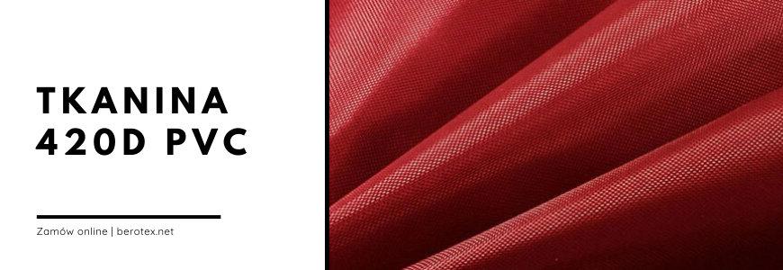 Tkanina 420d PVC