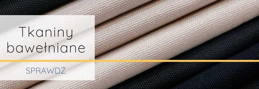 Tkaniny bawełniane Canvas