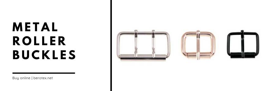 metal roller buckles
