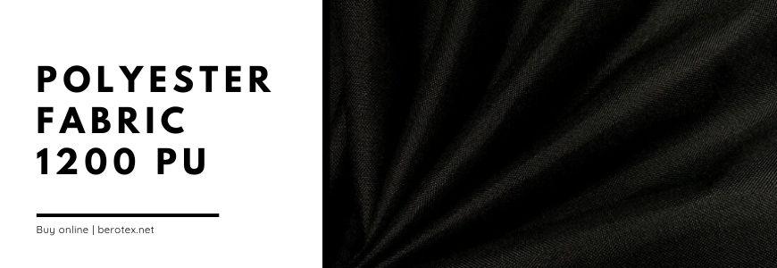 polyester fabric 1200 pu