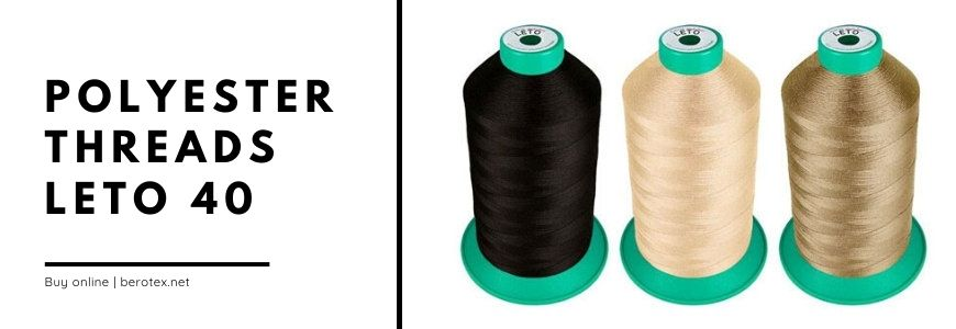 polyester threads leto 40
