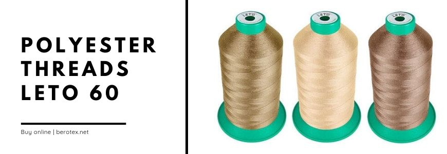 polyester threads leto 60