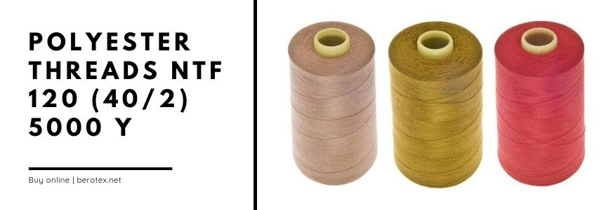 polyester threads ntf 120 40/2