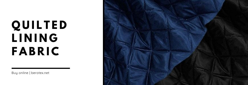 quilted lining fabric